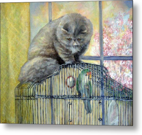 Lookin For Grub In All The Wrong Places Metal Print