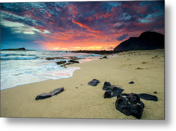 Looking East Metal Print