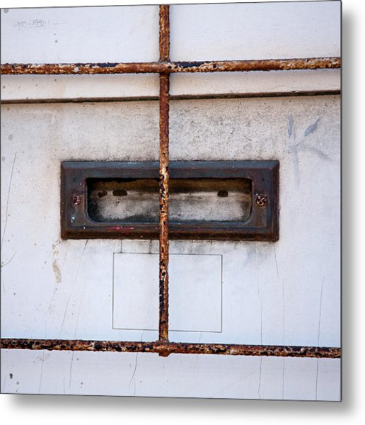 Looking Out For The Mailman Metal Print by Peter Tellone