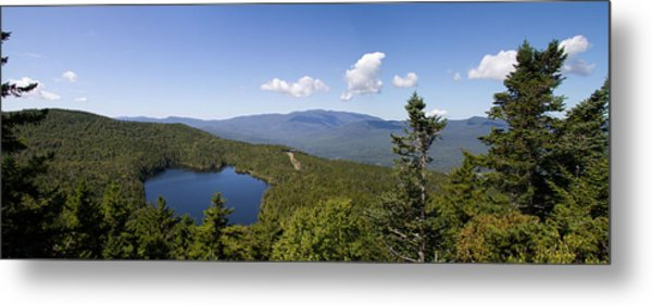 Loon Mountain Metal Print