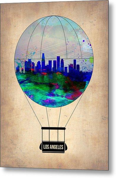 Los Angeles Air Balloon Metal Print