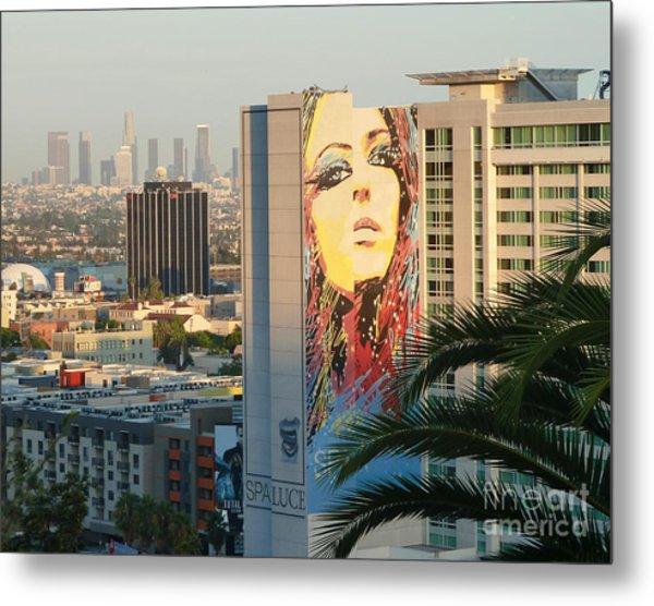 Los Angeles Golden Hour Metal Print