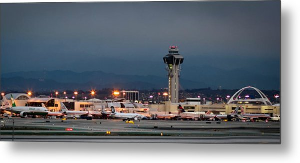 Los Angeles International Airport Metal Print