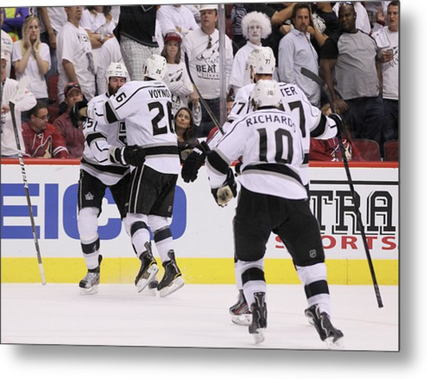 Los Angeles Kings V Phoenix Coyotes - Metal Print