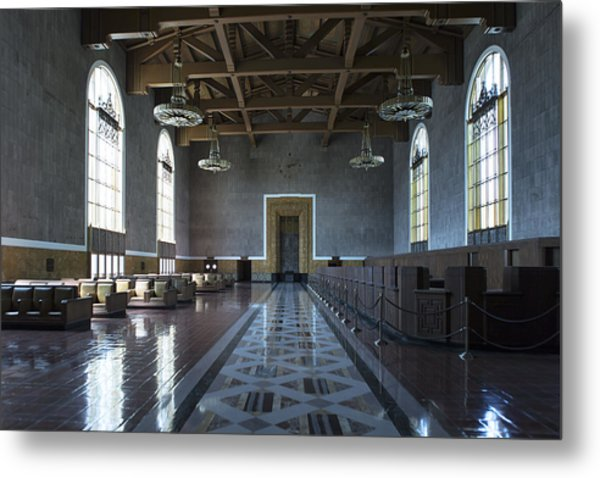 Los Angeles Union Station - Custom Metal Print