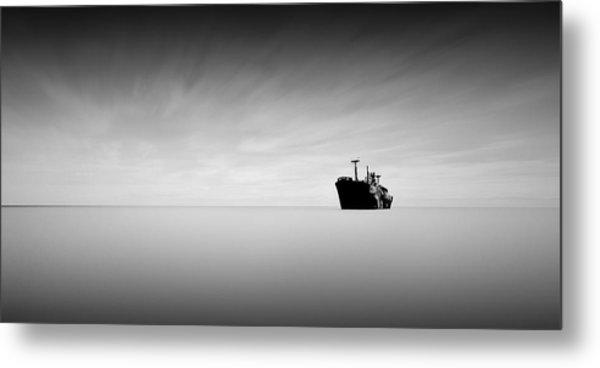 Lost At Sea Metal Print by Mihai Florea