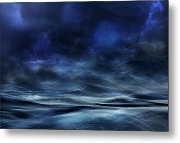 Lost At Sea Metal Print