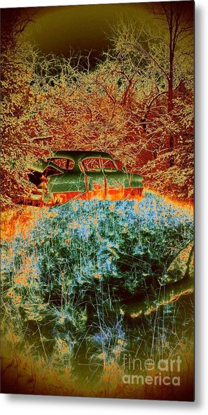 Lost Car Metal Print