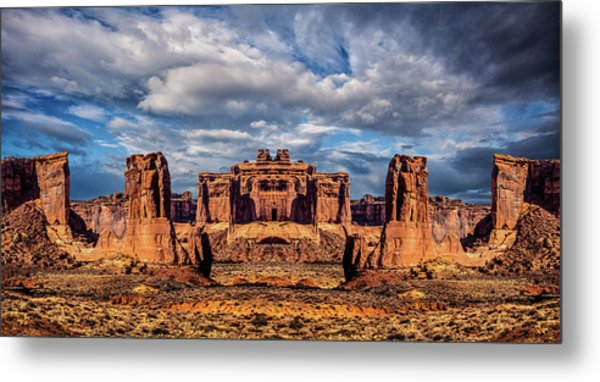 Lost City Of Gold Metal Print by Ron Jones