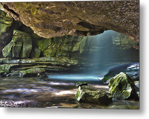 Lost Creek Falls Metal Print
