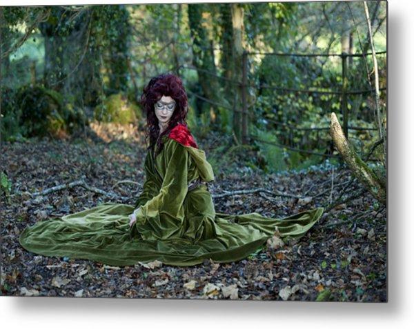 Lost Daughter Of Goddess Demether Metal Print by Sylwia Klimczak