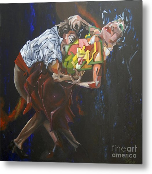 Lost In Dance Metal Print