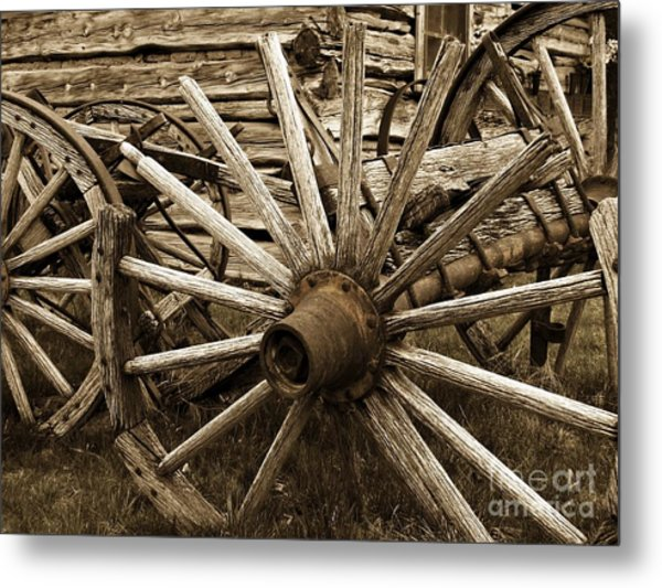 Lost In History Metal Print by Roxanne Marshal
