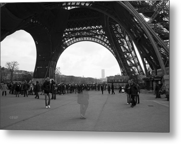 Lost In Paris Metal Print