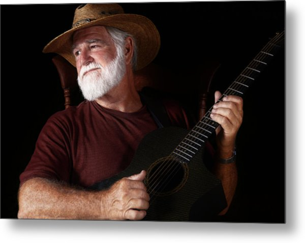 Lost In Song Metal Print
