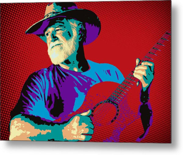 Jack Pop Art Metal Print