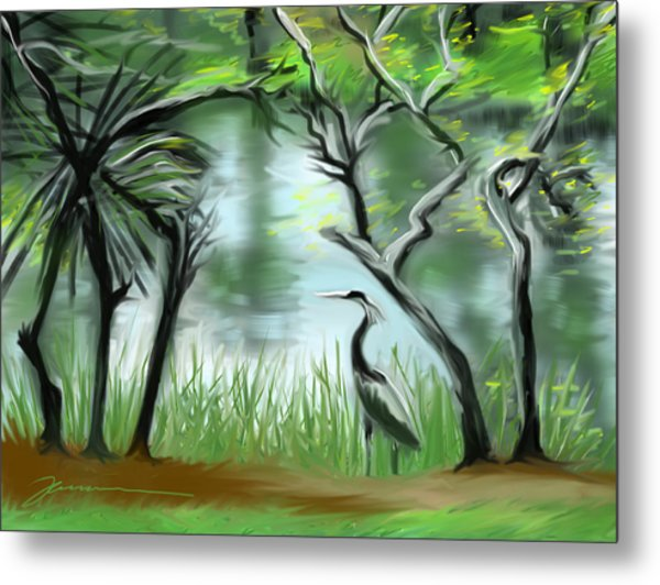 Lost Lake Metal Print