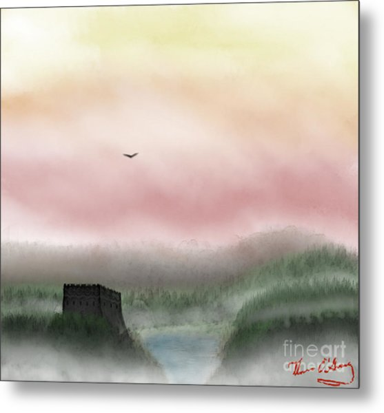 Lost Valley Metal Print