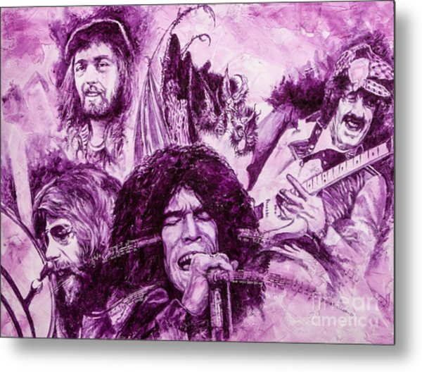 Loud'n'proud Metal Print