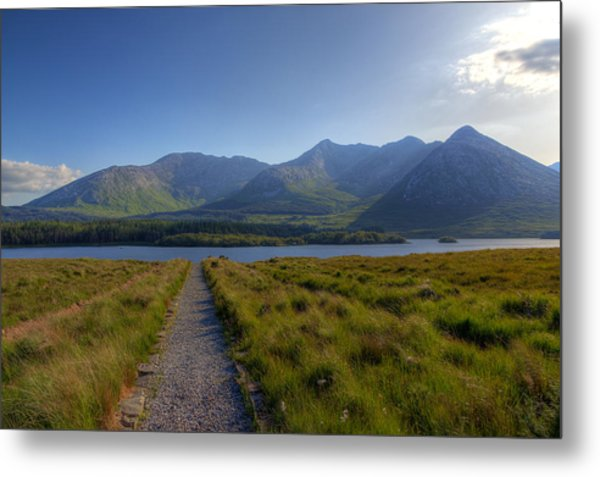 Lough Inagh Metal Print