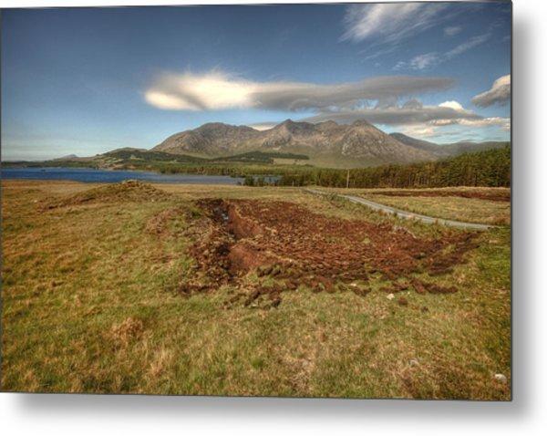 Lough Inagh Valley View Metal Print by John Quinn