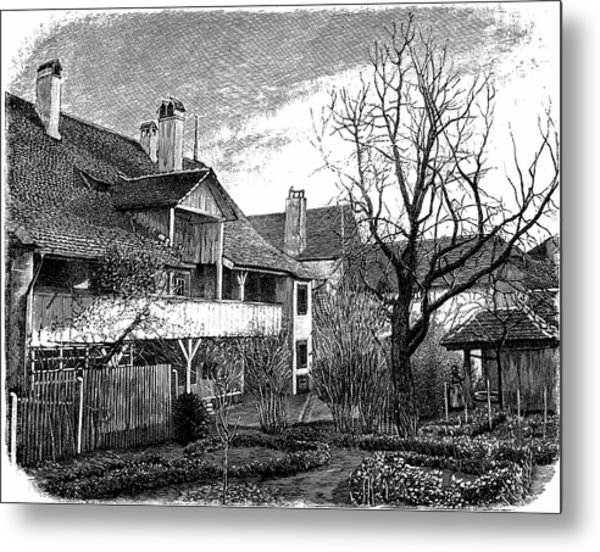 Louis Agassiz's Birthplace Metal Print by Universal History Archive/uig