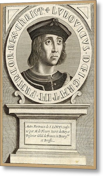 Louis Ix,  King Of France, Crusader Metal Print by Mary Evans Picture Library