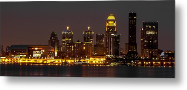 Louisville Skyline Metal Print