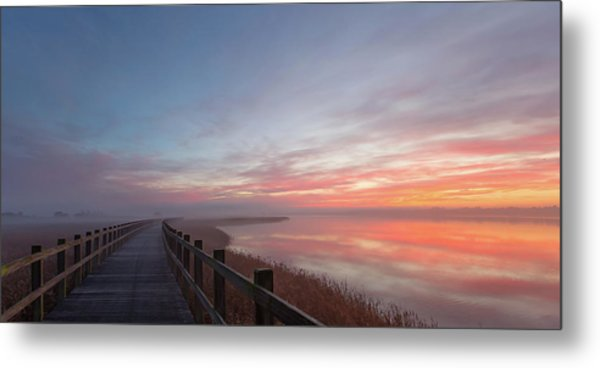 Love A Morning Like This II. Metal Print