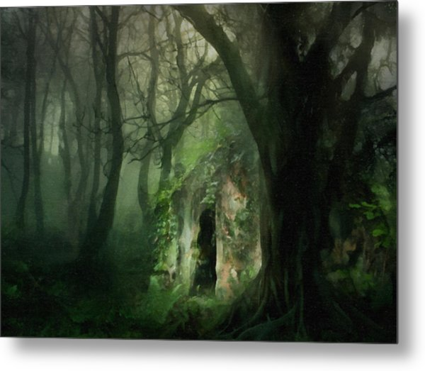 Love Affair With A Forest Metal Print