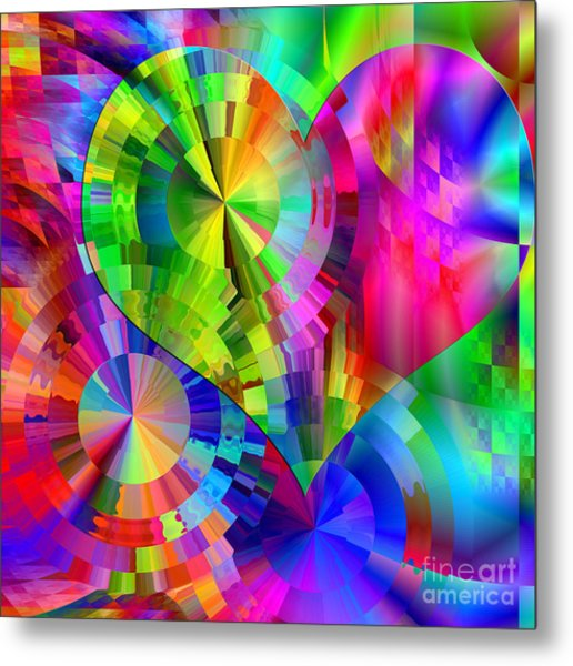 Love And Happiness Metal Print