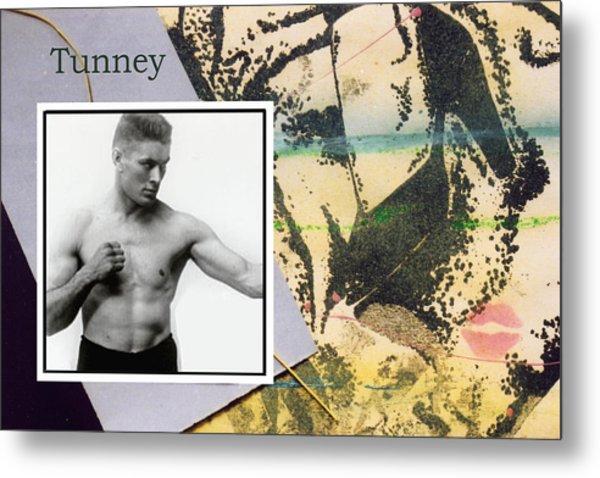 Love And War Tunney Metal Print