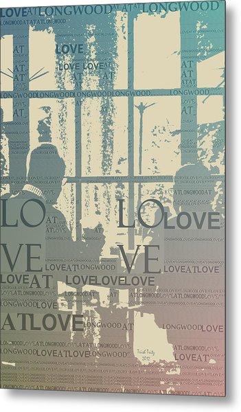 Love At Longwood Metal Print