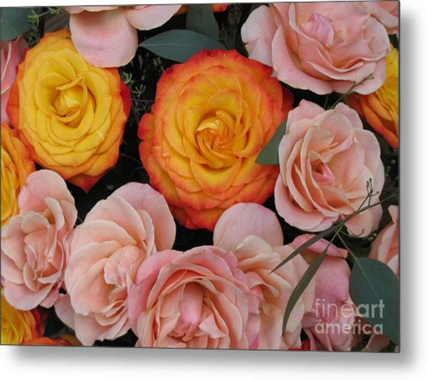 Love Bouquet Metal Print