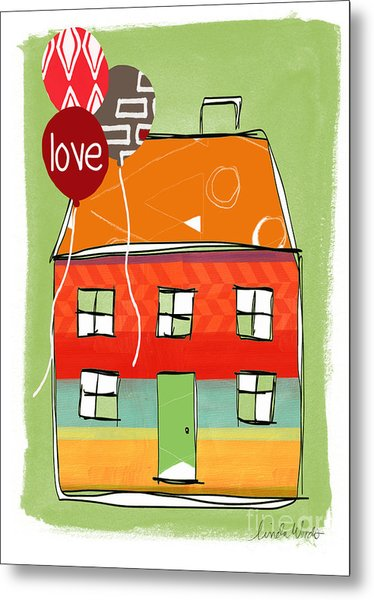 Love Card Metal Print