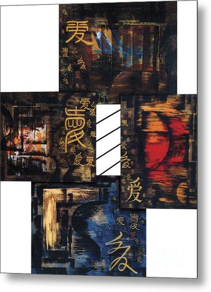 Love Four Seasons Metal Print