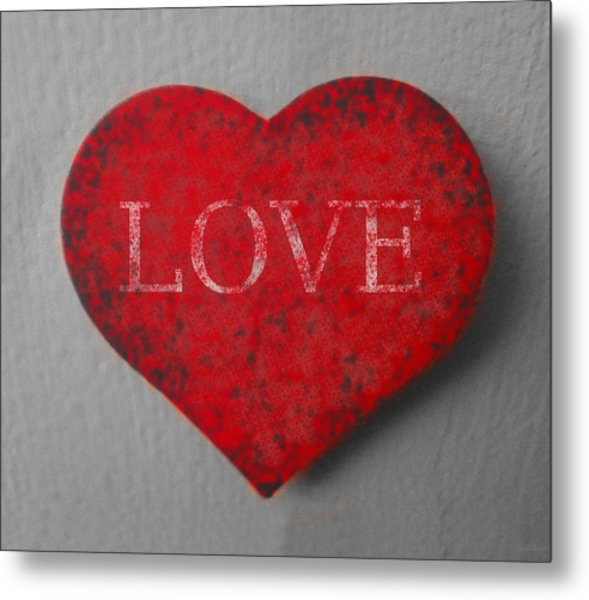 Love Heart 1 Metal Print