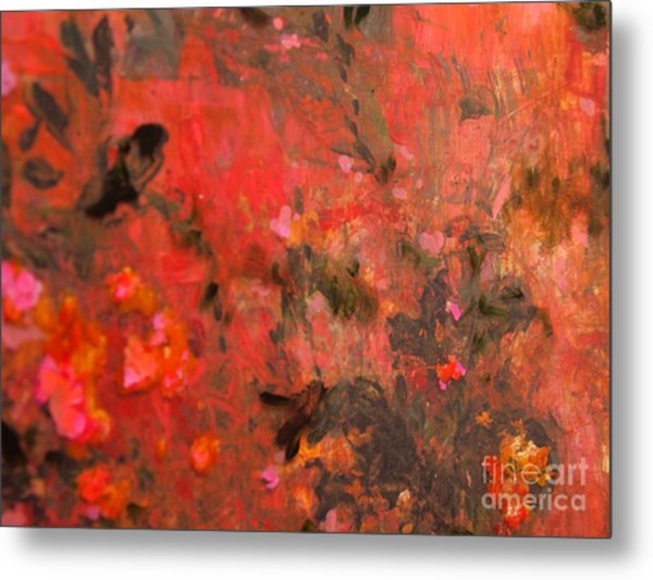Love In Red 3 Metal Print