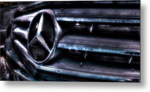 Love My Benz Metal Print
