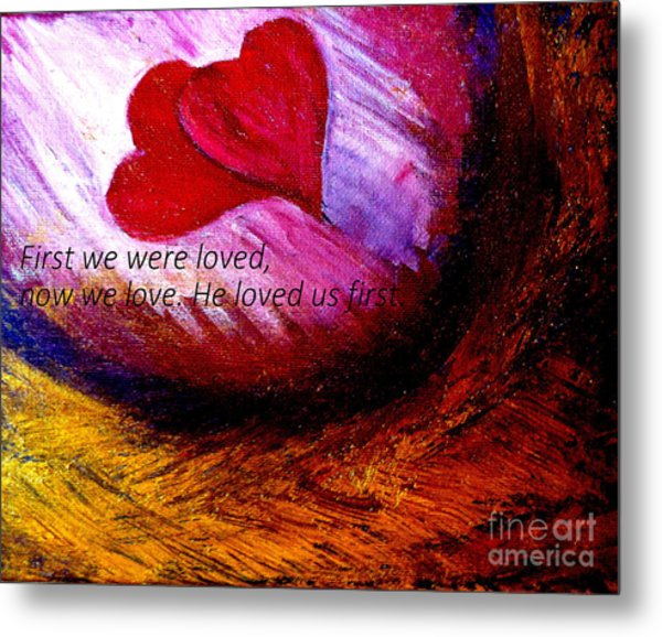 Love Of The Lord Metal Print