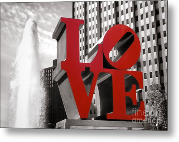 Metal Print featuring the photograph Love by Olivier Le Queinec