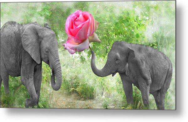 Love-rose Metal Print
