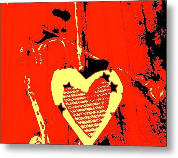 Love-star Metal Print by Dorothy Rafferty