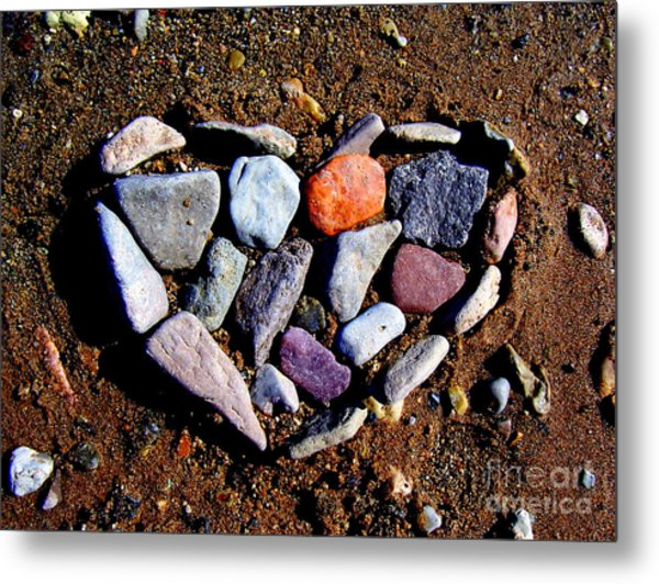 Love Stones Metal Print