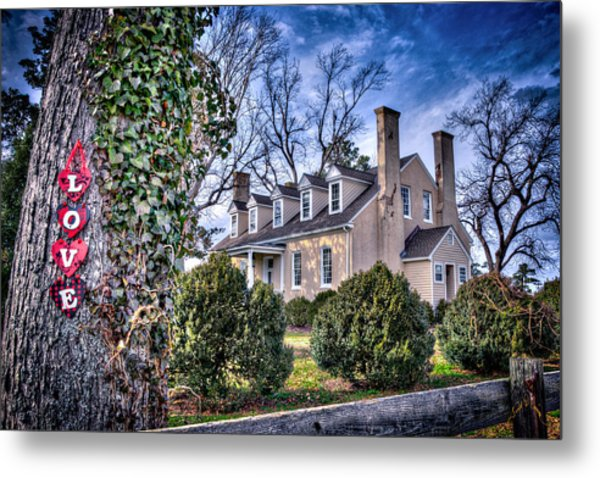 Love Windsor Castle Metal Print by Williams-Cairns Photography LLC