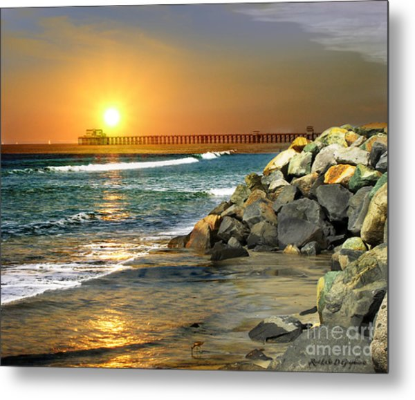 Loved By The Sun Metal Print
