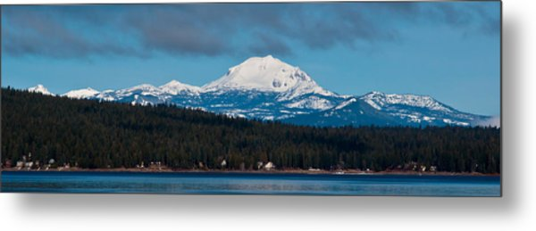 Lovely Lassen  Metal Print