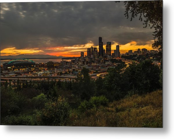Lovely Seattle Metal Print