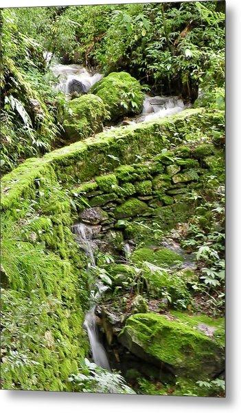 Lovely Waterfall Metal Print