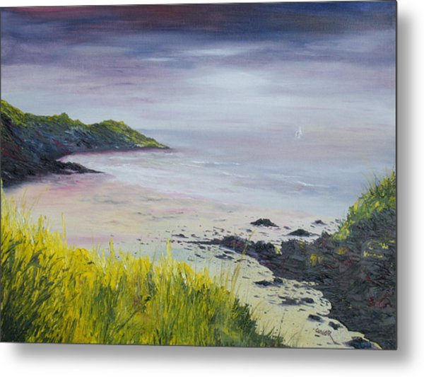 Lovers Cove Kinsale   Metal Print